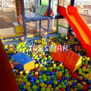 Soft Play Top Havuzu Kaydırak 100 cm