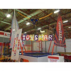 Toysmar Ticari Salto Trambolin 1 Kişilik Galveniz 300