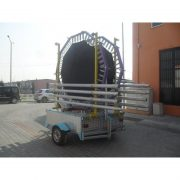 Mobil Salto Trambolin 4 Kişilik Alüminyum 250