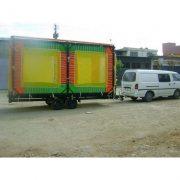Mobil Trambolin 6 Kişilik Çift Dingil Ruhsatlı Motorlu