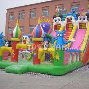 Şişme Oyun Parkı Hayal Dünyası 13x7x6 m