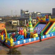 Şişme Oyun Parkı Ejderha Evi Olimpik 16x8x7 m