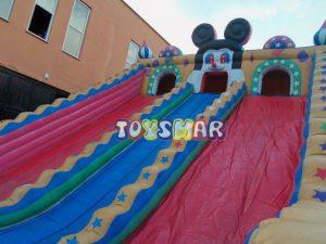 Toysmar Şişme Oyun Parkı Aktiviteli Kaydırak 12x6x6,5 m