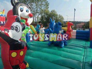 Şişme Oyun Parkı Dany Miky Junıor 11x7x4,8 m