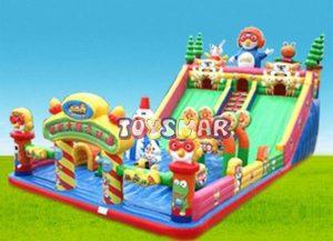 Şişme Oyun Parkı Çılgın Penguen 15x8x7,5 m