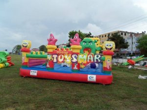 Şişme Oyun Parkı Sünger Bob 10x6x4 m