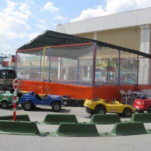 Ticari Olimpik Trambolin 6 Kişilik & Çatı