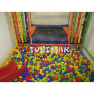 Oyun Havuzu (Oyun Parkı) 7x3x2 2 Katlı Trambolinli