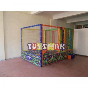 Oyun Havuzu (Oyun Parkı) 2x3x2 Mini Kaydıraklı
