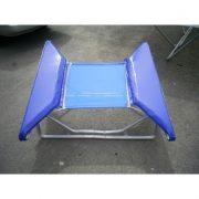 Profesyonel Trambolin 117×117 cm Lastikli/Yaylı