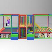Top Havuzu Oyun Parkı Trambolinli 9mx3mx2m