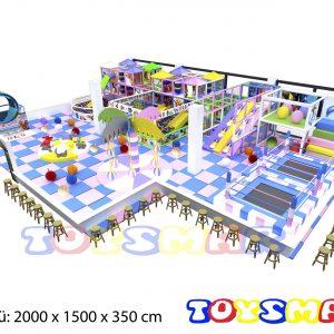 Soft play Oyun alanı Top Havuzu M2