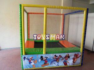 Toysmar Trambolin Tekli Mini (+ kurulum) 200x210x200 (50+150) cm Ücretsiz Kargo