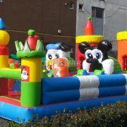 Şişme Oyun Parkı Çizgi Karakterler 10x6x5 m