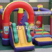 Şişme Oyun Parkı Sihirbaz Kalesi 6x5x2.8