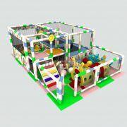 Top Havuzu Oyun Alanı Trambolili Model 6mx4mx2,5m